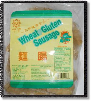 Wheat Gluten Sausage